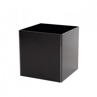 Cube, kube (for utstillingsmateriell), svart