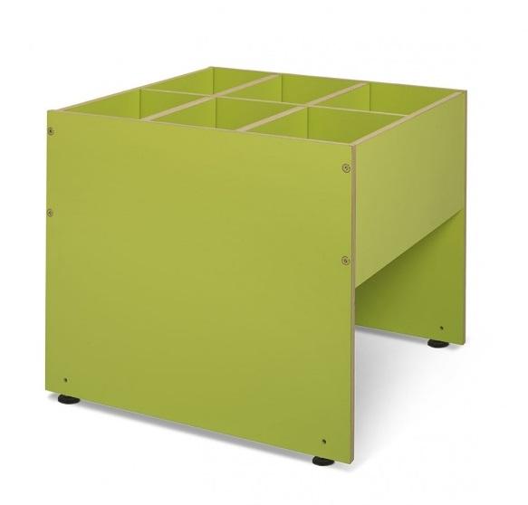 Bildebokkasse Plus, limegrønn
