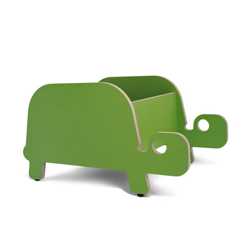 Ture bildebokkasse, grønn