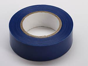 Merketape 15 mm x 10m, blå