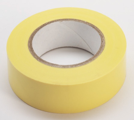Merketape 15 mm x 10 m, gul