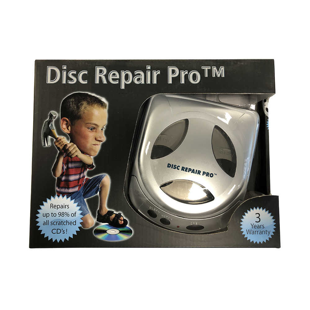 CD/DVD fornyer Disc Repair m/kit*utgår*