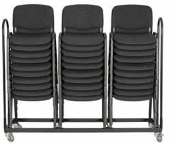 Vogn for opptil 30 stk. ISO stoler