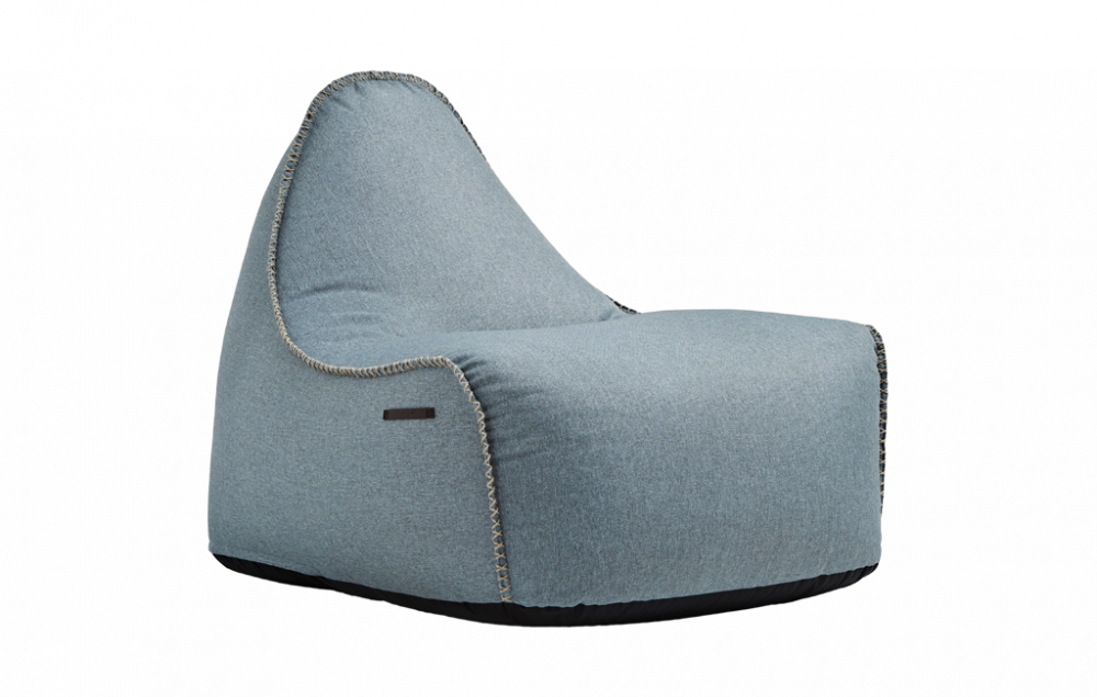 RETROit Medley stol, dusty blue