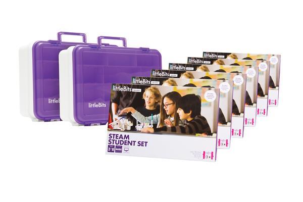 littleBits STEAM Education 18 Student pack