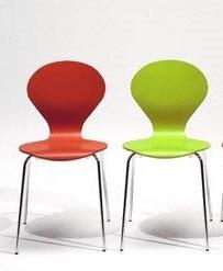 Stol Rondo u/lener, lakkert standardfarge