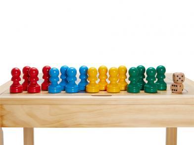 Ekstra ludobrikker til ludo- og sjakkbord
