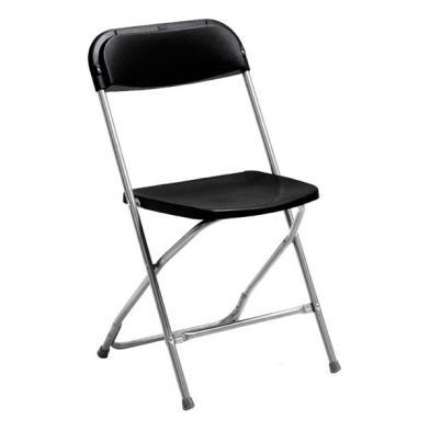Klappstol Smart, svart, 4 stk.