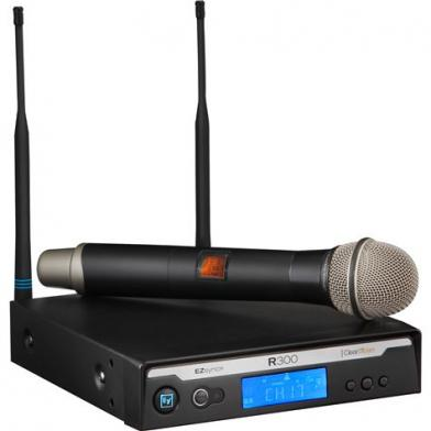 Trådløs håndholdt mikrofon