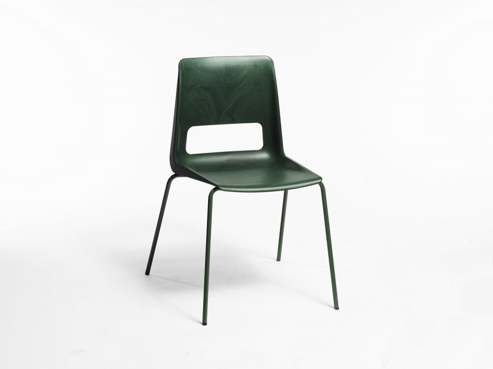 Stol S-1500 Ocean Green, 4 grønne ben