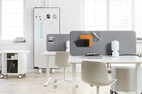 Softline lydabsorberende bordskjerm