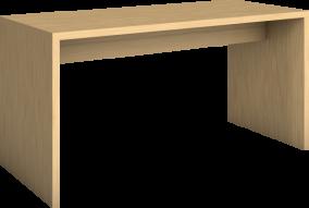 Vangebord, høyt u/fothviler 180 x 80 x H90 cm