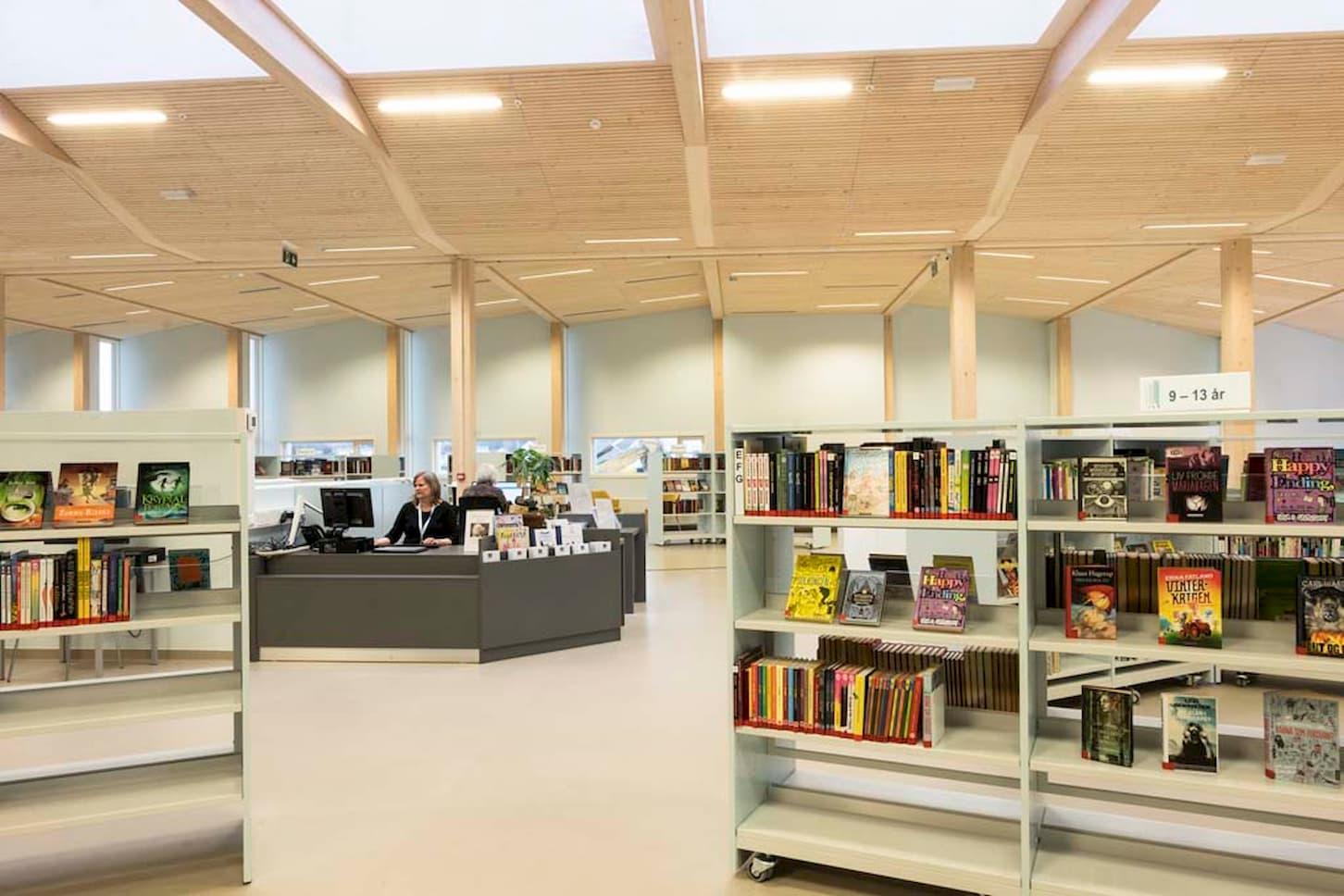 Grimstad bibliotek.