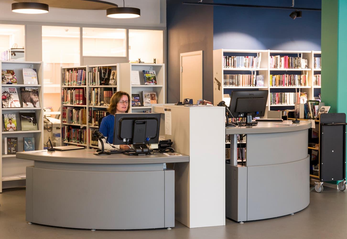 Skranke Holmestrand bibliotek