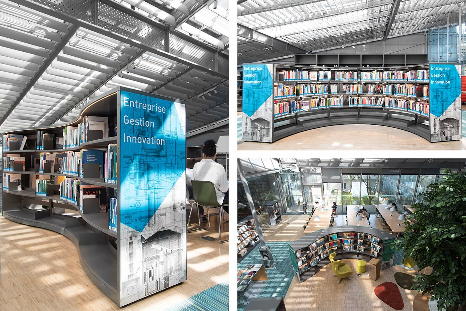Champs Sur Marne Learning Center Academic Library