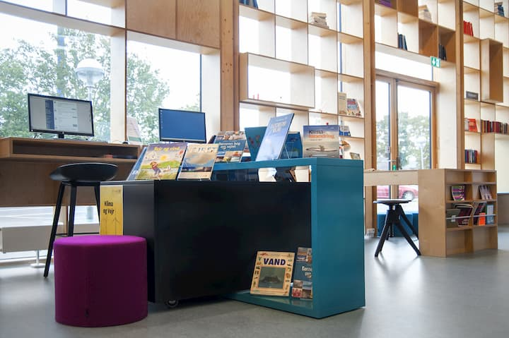 Vodskov Bibliotek, Danmark