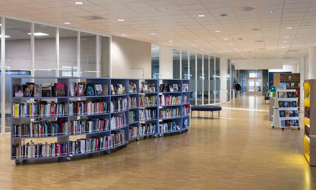Bibliotekenes Hus, biblioteket